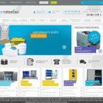 E-Retention, vente en ligne de matériels de stockage pour produits dangereux