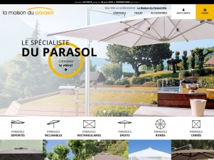 blogaire la maison du parasol vente des parasols de qualit. Black Bedroom Furniture Sets. Home Design Ideas