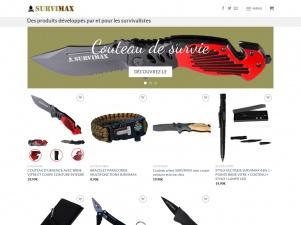 Survimax : produits pour les survivalistes