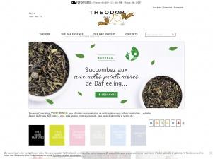 Theodor, boutique en ligne de thé