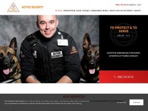 Active Security, agence de gardiennage du Hainaut