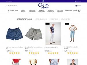 Coton Marine : votre fournisseur de vêtements en coton