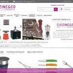 Cuizine and Co, boutique d'ustensiles de cuisine