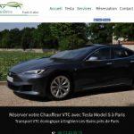 EV Premium – votre compagnie VTC écologique à Paris
