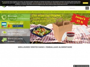 Fournisseur d'emballages alimentaires : Embunic