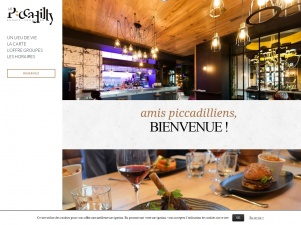 Le Piccadilly : bar, brasserie et terrasse à Rennes