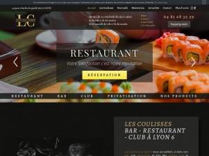 Les coulisses, bar, restaurant, club à Lyon 6