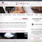 Location de limousine à Paris, SN Chauffeur VIP