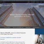 Maître Charles-Amadou Dramé, avocat droit bancaire à Paris 4