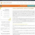 Maître Claire Chevanne, avocat en droit du travail à Versailles
