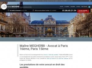 Maître MEGHEBI, avocat en licenciement à Paris 16
