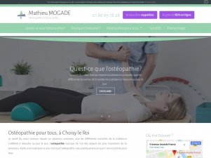 Mathieu Mogade, douleurs musculaires, ostéopathe Choisy-le-Roi