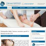 Ostéopathe Clément Mathus