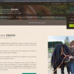 Cassandra Simon, ostéopathie équine à Évreux