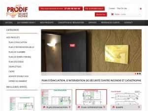 Prodif Plan, plan d'évacuation ERP