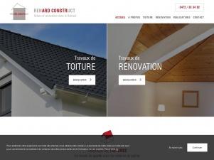 Renard Construct, construction et rénovation de toiture dans le Hainaut