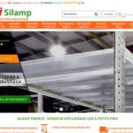 Silamp, vente d'éclairages led