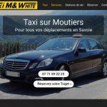 Taxi à Moutiers – M&White