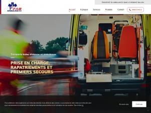 TFAS Ambulances, service de transport en ambulances en Belgique