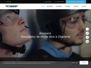 Airspace : un simulateur de chute libre en Belgique