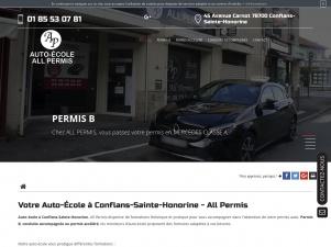 Auto-école All Permis, conduite accompagnée à Conflans-Sainte-Honorine