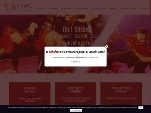 Cabaret Dîner Spectacle Oh! César à Paris – Découvrez le César Palace