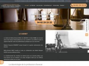 Cabinet Ginez, Bienfait, Robbe, avocat en droit pénal à Nice