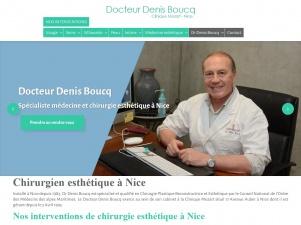 Chirurgien esthétique à Nice: le docteur Boucq
