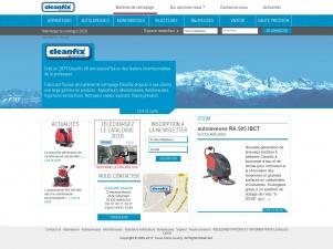 Cleanfix, distributeur de matériels de nettoyage en France