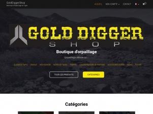 Golddiggershop – Boutique d'orpaillage