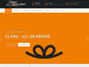 Espace Rénovation Briançon : vente et installation de portes et fenêtres de style