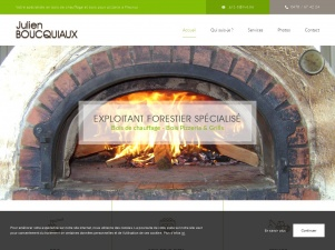 Julien Boucquiaux : exploitant forestier à Fleurus