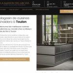 La maison des archis, Snaidero Toulon : votre magasin de cuisines de luxe