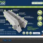 Lecobloc: système de construction économique