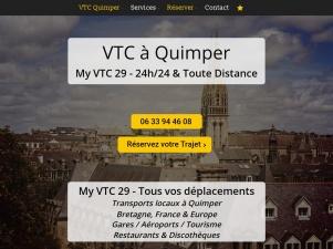 My VTC 29 – Votre compagnie de Transport à Quimper