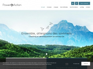 Power 4 Action, coaching en entreprise en Belgique