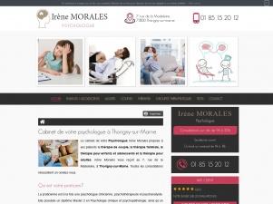 Psychologue à Thorigny-sur-Marne, Irène Morales