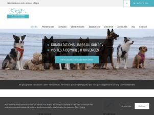 Sabine Carton, vétérinaire dans le Hainaut