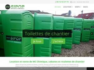 Sipop, la vente et la location des aménagements temporaires d'hygiène