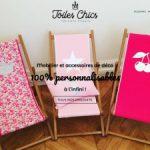Toiles Chics, concept store en ligne