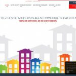 100=0, agent immobilier sans commission