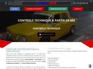 ANC 59, centre de contrôle technique auto à Valenciennes