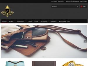 Caprice du Roi, boutique en ligne de maroquinnerie