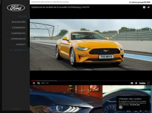 Concession Ford Mustang à Avignon – USA Car