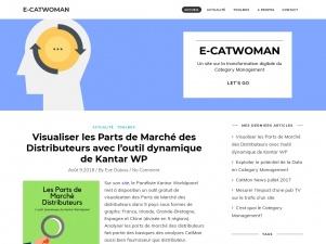 E-Catwoman, blog d'informations sur la transformation digitale du category management