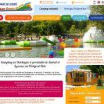 Etang du Bos : camping dordogne avec parc aquatique