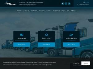 Euro Trafic : Spécialiste du transport et de la logistique en Belgique