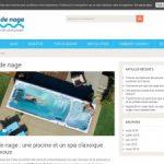 Informations sur le spa de nage