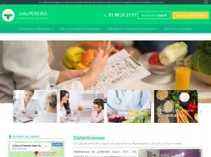 Julia Pereira, diététicienne à Bonnelles