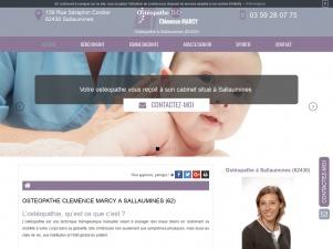 Ostéopathe Clémence Marcy à Sallaumines
